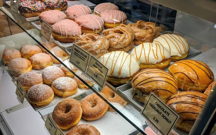 Breka Bakery and Cafe Donuts