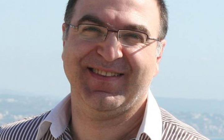 Mohammad Sanioura smiling