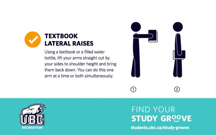 Textbook lateral raises