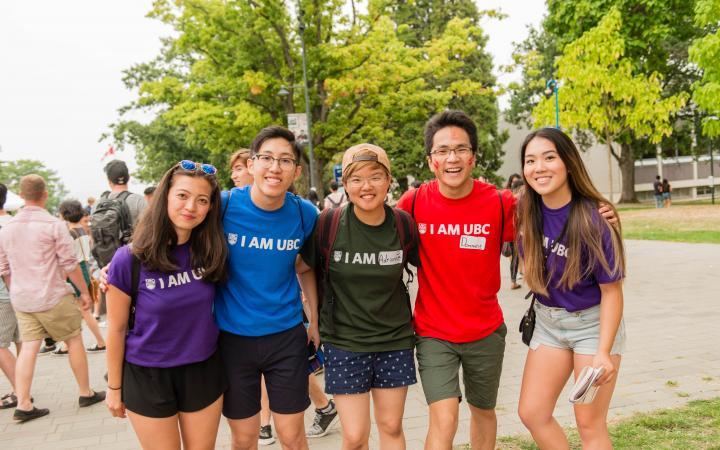 Faculty spirit at Imagine UBC