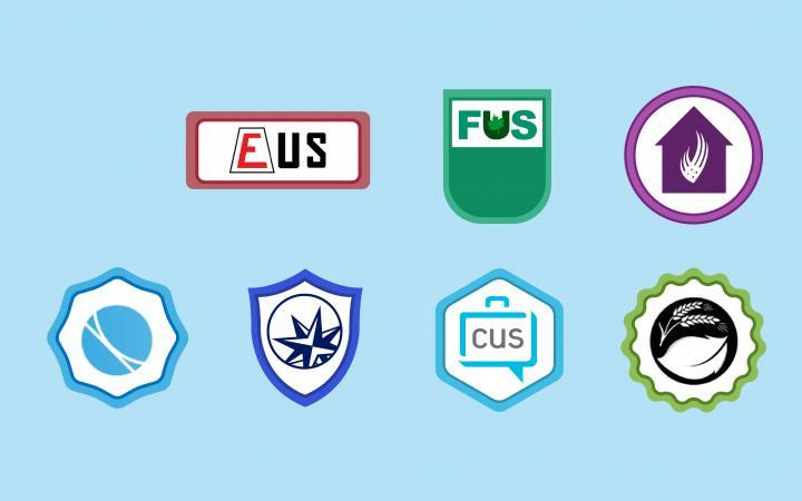 Logos of Student Societies