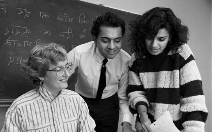 Asian Studies students, 1988