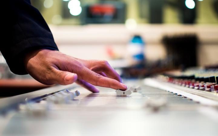 Running a soundboard