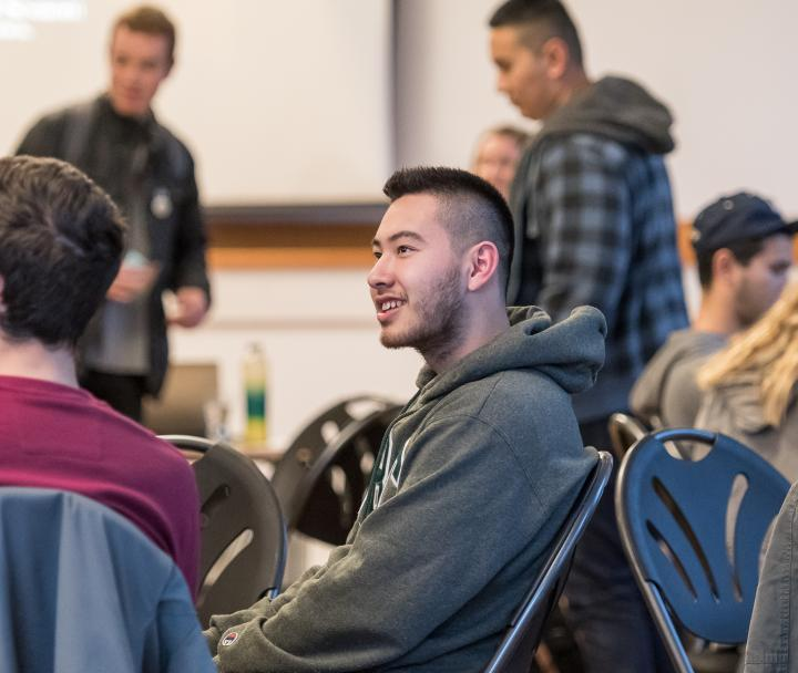 UBC Student attends a GoGlobal Seminar in order to receive more information & interact with fellow, to-be exchange students