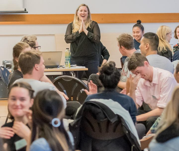 UBC Students attends a GoGlobal Seminar in order to receive more information & interact with fellow, to-be exchange students