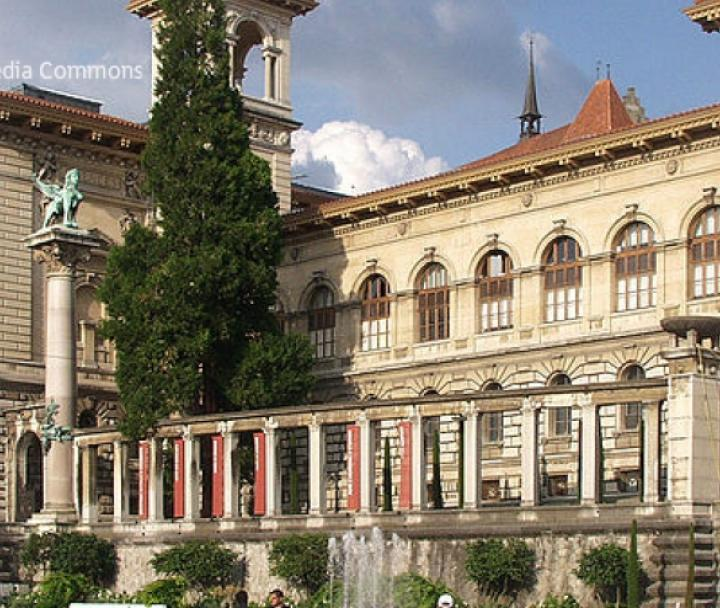 the palais de rumine
