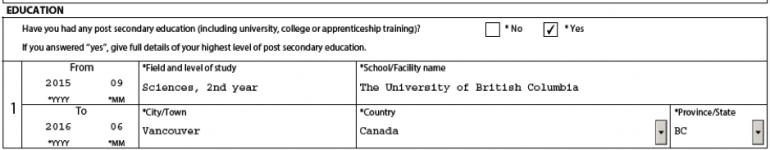 Education field