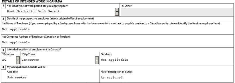 How to apply for a post graduation work permit student services details of employment field spiritdancerdesigns Images