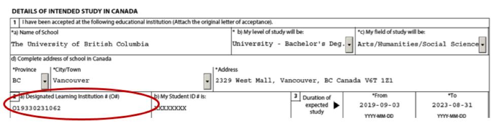 UBC's DLI